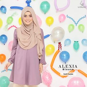 Alexia Blouse : Soft Purple