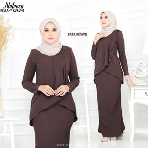 NAFEESA BELLA DARK BROWN