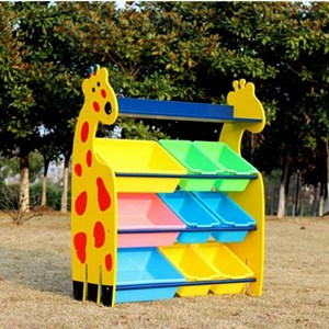 GIRRAFE STORAGE RACK 6+3 BIN