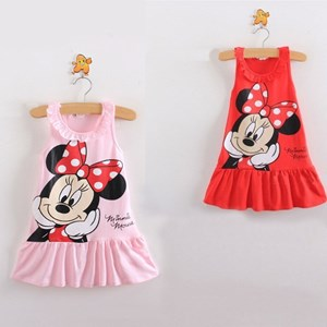 Sleevesless Minnie Mouse Dress