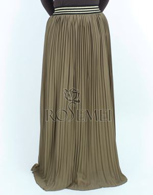 MARISSA SKIRT - BROWN
