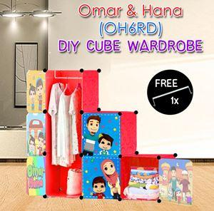 Omar & Hana 6C DIY WARDROBE Free 1x Hanger (OH6RD)