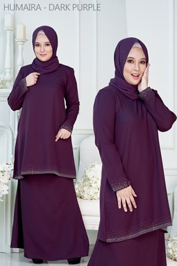 HUMAIRA - DARK PURPLE