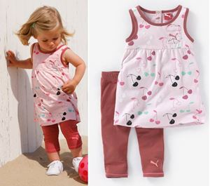 Girl Set - 2 pcs Collections - Peach