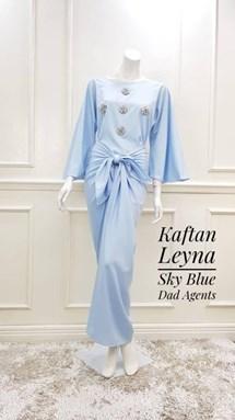 Kaftan Leyna Sky Blue