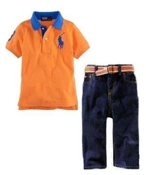Polo Orange Set