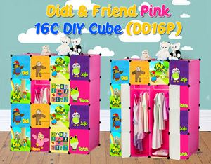 Didi & Friends 16C PINK DIY Wardrobe (DD16P)