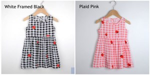 Plaid Strawberry Dress
