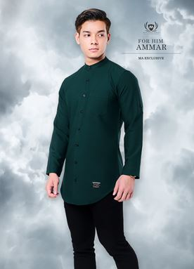 Kurta Ammar For Him (Emerald Green)