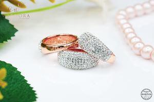 Scarf Ring Zahra Crystal