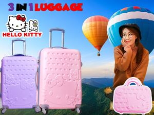 3 IN 1 LUGGAGE HELLOKITTY N01000