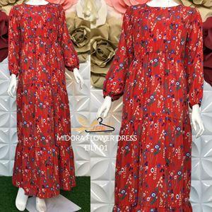 MIDORA FLOWER DRESS