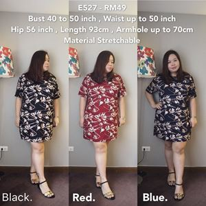 E527  *Ready Stock-Bust 40 to 50 inch/100-127cm