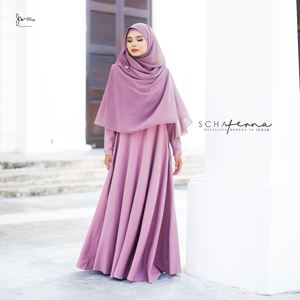 SCHAFERNA EXCLUSIVE MODERN IN JUBAH (LILAC PURPLE)