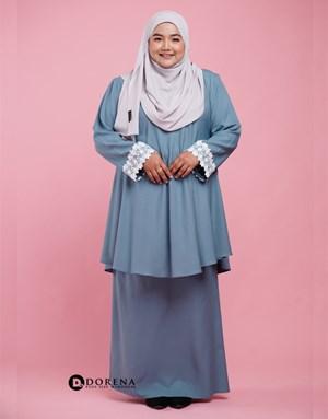 Kurung Natasya (Blue)