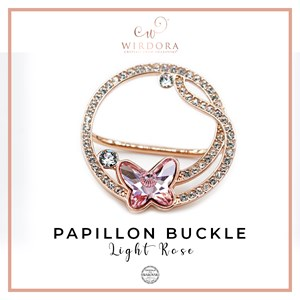 Buckle Papillon Light Rose