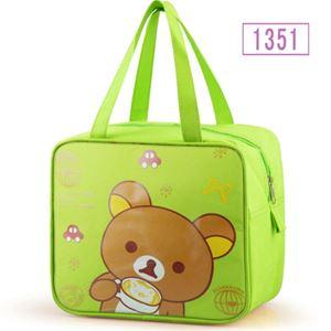 PREORDER LUNCHBOX  BAG ( GREEN BEAR )  ETA MID APRIL