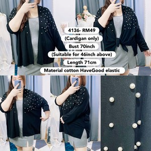 4136 * Ready Stock * Bust 46 to 70inch / 117 - 177cm