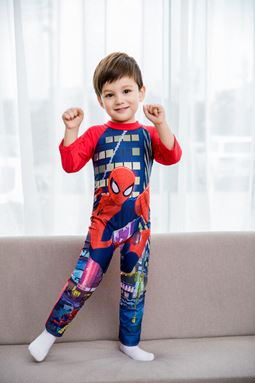 SPIDERMAN SWIM SUIT LONG SLEEVE