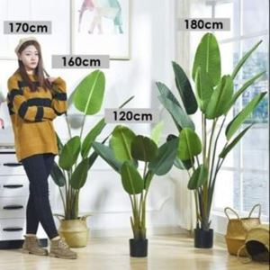 ARTIFICIAL PLANT Banana leaf / Pokok Pisang