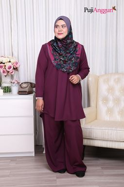 MARISSA SUIT - PURPLE PLUM