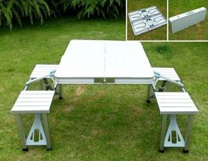 ALUMINIUM PICNIC TABLE