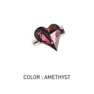 Brooch Sweetheart Amethyst