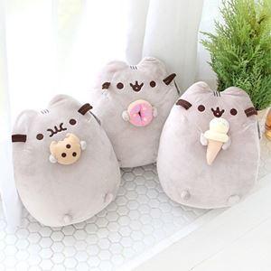 Pusheen Cat Food Pillow