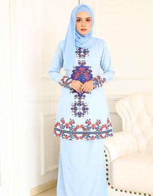 MAWAR KURUNG - BABY BLUE
