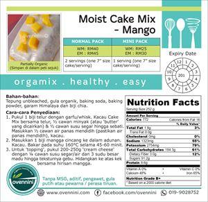 Moist Cake Mix (Mango)