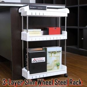 3 Layer Slim Wheel Steel Rack N00997