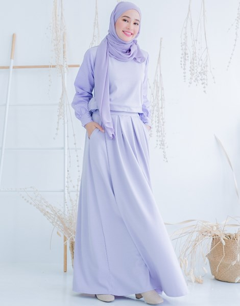 ALICE SKIRT IN LILAC
