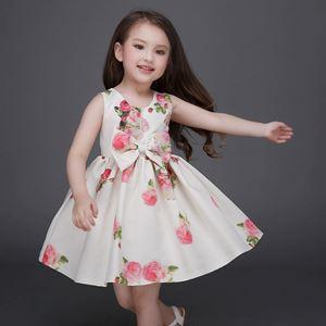 Kids Gown Pink Flower