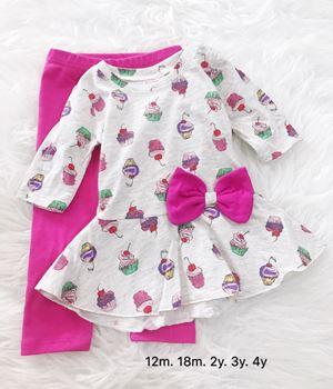 Peplum Set - Cupcake Pink