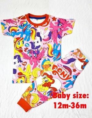 Pyjamas  MY LITTLE PONY PINK : BABY 12M- 36M