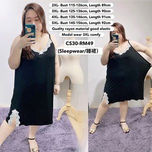 CS30 Ready Stock *Bust 46 to 61 inch/ 115-156cm