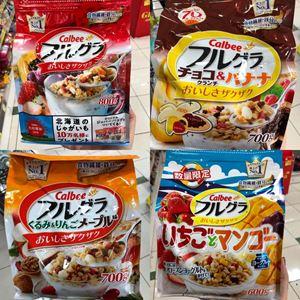 Japan No.1 Calbee cereal 水果麦片
