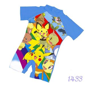 1433 Kids  Swimsuit (2 - 7 years old) - Pokemon