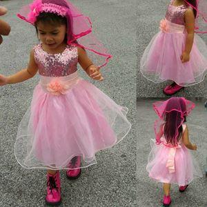 Kids Gown Light Pink