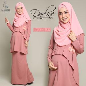 Darline Kurong Moden : Dusty Pink
