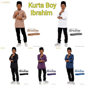Kurta IBRAHIM for BOY ( L - XL)