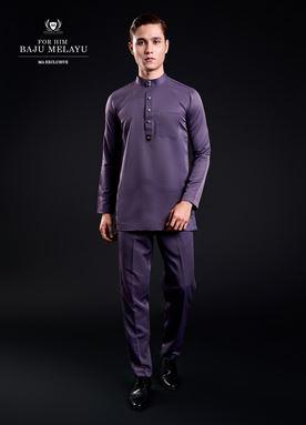 Baju Melayu For Him (Mauve Purple)