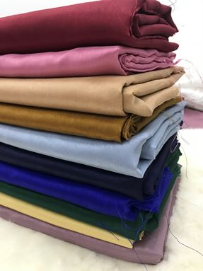 Shantung silk
