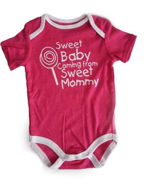 Wording Rompers - Sweet Baby, Sweet Mommy