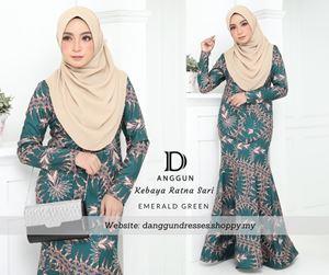 Kebaya Batik Ratna Sari Emerald Green