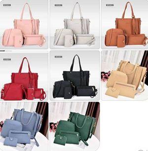 PREORDER  BB162 Female Handbag Set ( 4 in 1 )  ETA END APRIL'18
