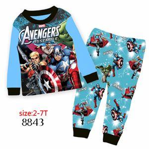 8843 Cuddleme 'Avengers' PYJAMA (2T-7T)