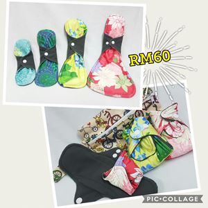 Pakej TRIAL CLOTH PAD + WETBAG