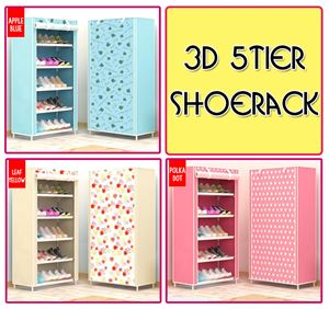 3D 5tier shoerack