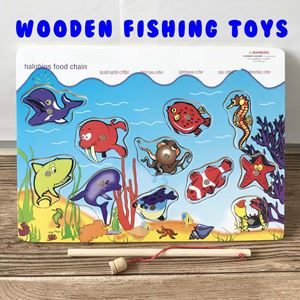 WOODEN FISHING BOARD